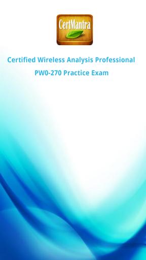CWAP PW0-270 Exam Prep