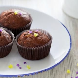 Two Chocolate Banana Muffins