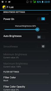 Screen Brightness Control - screenshot thumbnail