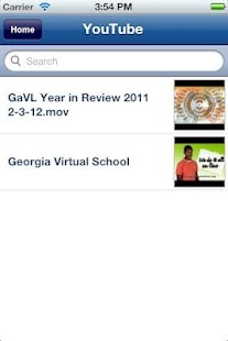 GAVS App - screenshot thumbnail