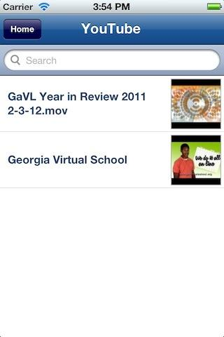 GAVS App - screenshot