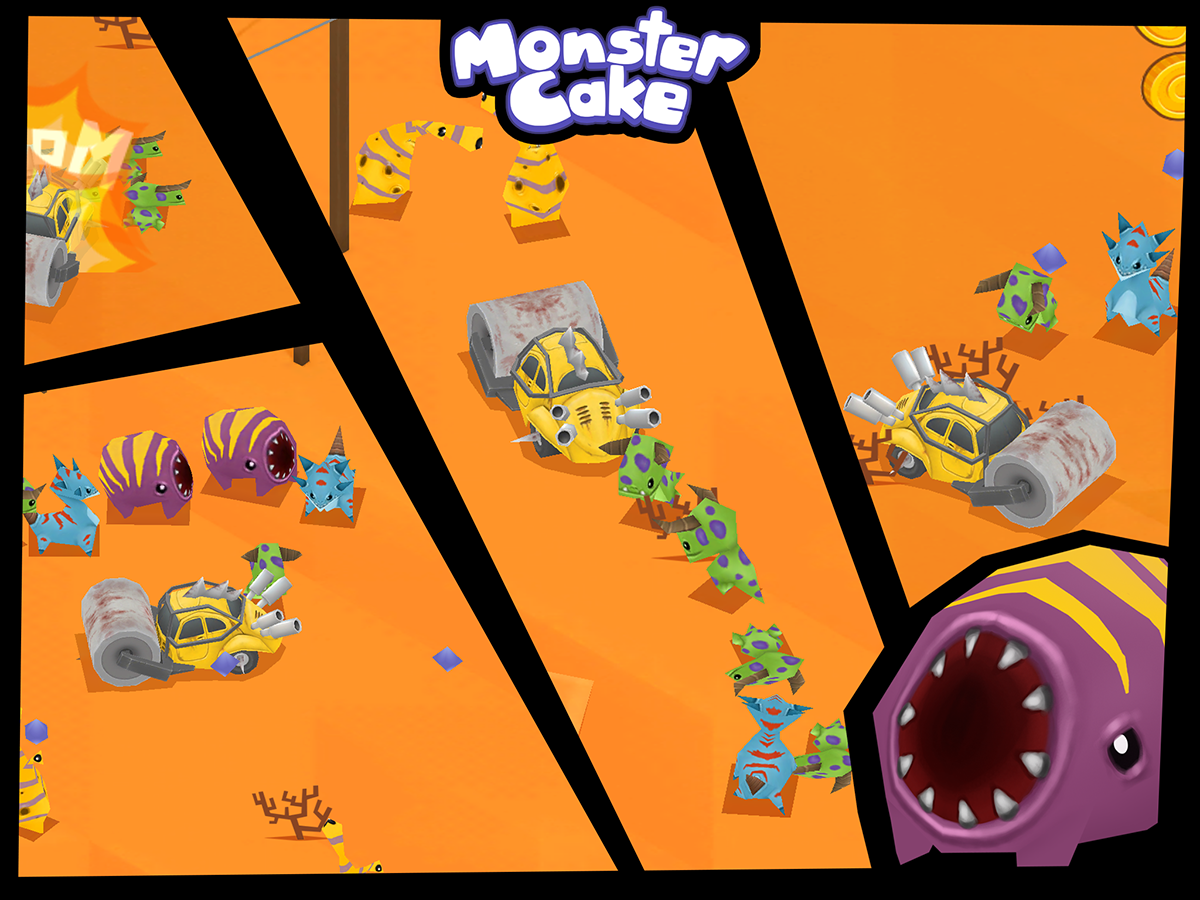Monster Cake- screenshot