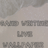 Sand Writing LIVE WALLPAPER