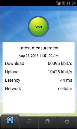 Netradar mobile speed test