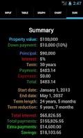 Screenshot of Karl's Mortgage Calculator Pro
