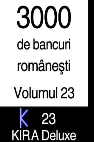 BANCURI 3000 - volumul 23