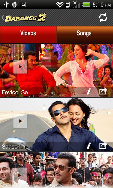 Dabangg 2 Official Free App - screenshot