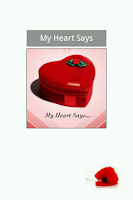 Screenshot of My Heart Says...