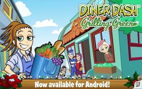Diner Dash Grilling Green Dlx