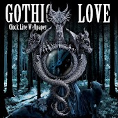 Romantic Gothic Love Clock LWP