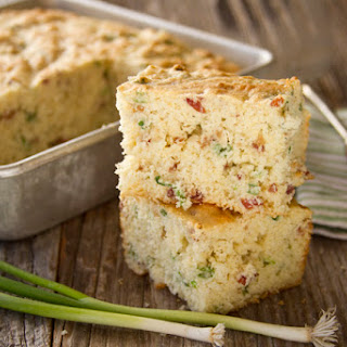 Bacon Green Onion Cornbread and the Prayers of a Control Freak