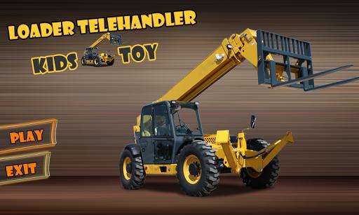 裝載機伸縮式裝卸機兒童玩具