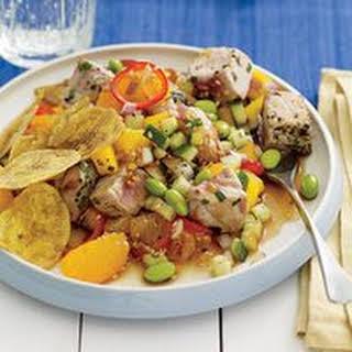 Tropical Tuna Salad Supper.