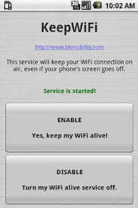 KeepWiFi screenshot 1