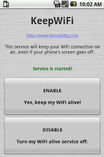 KeepWiFi - screenshot thumbnail