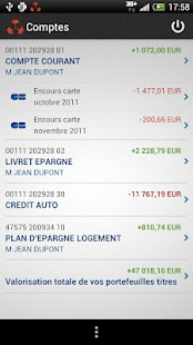 Crédit Mutuel - screenshot thumbnail