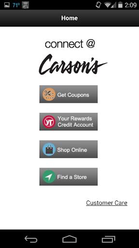 Connect Carson's