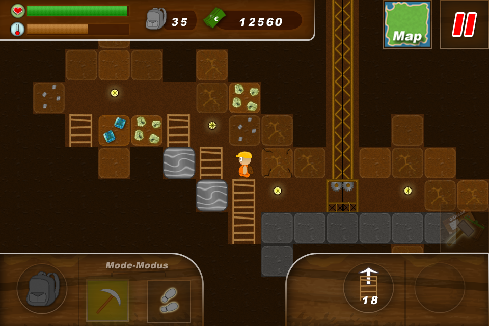 mine digger game