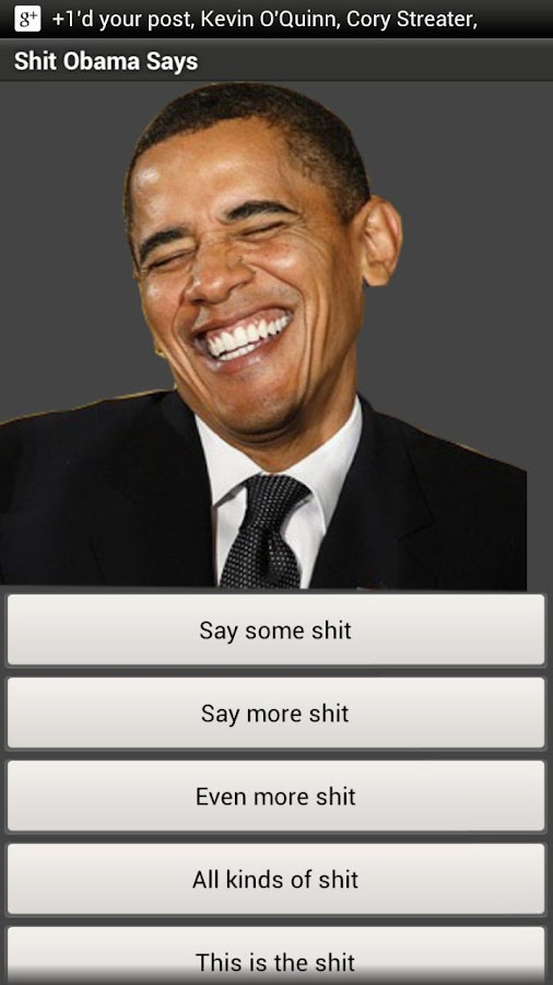 Shit Obama Says - screenshot