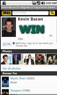 Kevin Bacon Game- screenshot thumbnail