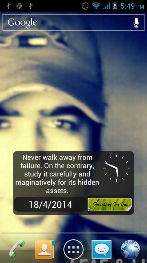Thought Of The Day Android App- screenshot