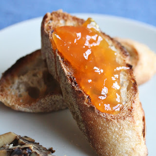 Golden Spiced Plum Jam