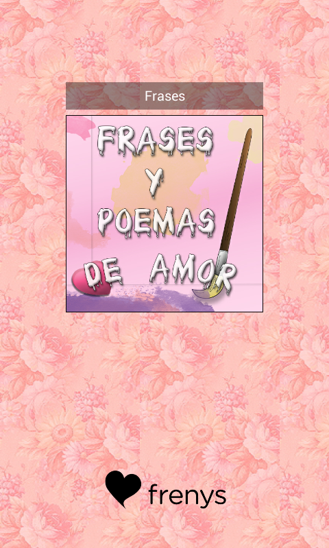 Frases y Poemas de Amor- screenshot