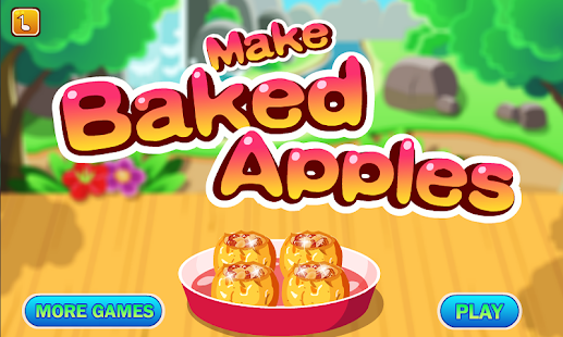 Baked Apples Cooking Games