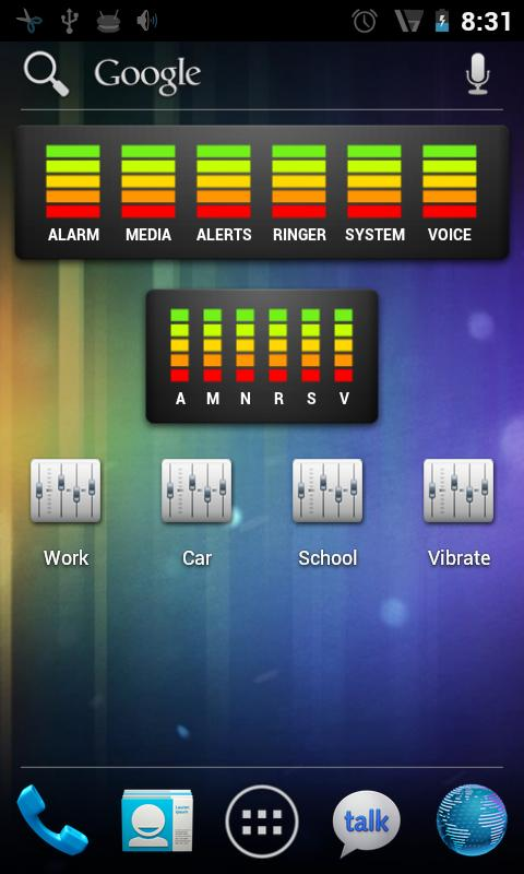Locale AudioManager Plug-in - screenshot
