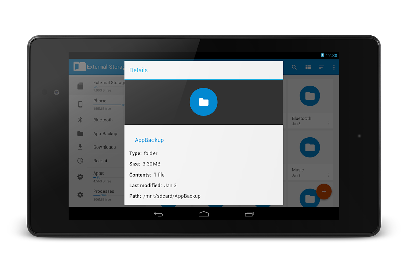 File Manager Pro - USB Storage, Rooted, Android TV Screenshot 15