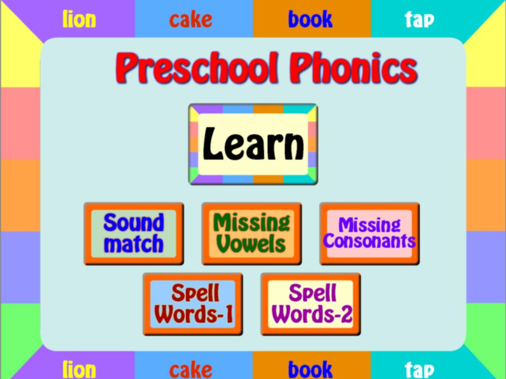 Worksheet Preschool Phonics preschool phonics free android apps on google play screenshot