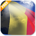 3D Belgium Flag Live Wallpaper icon