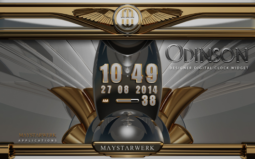 Digi Clock Widget Odinson app for Android screenshot