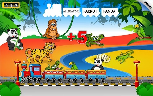 Kids Animal Train - First Word- screenshot thumbnail