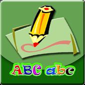 Belajar Membaca Menulis Abjad