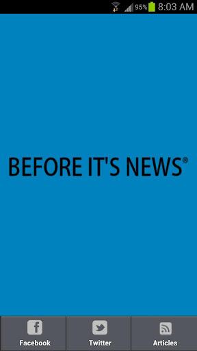 Before It's News Politics