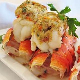 Crab-Stuffed Lobster Tail.