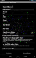 Screenshot of ATOMium 3D Free Live Wallpaper
