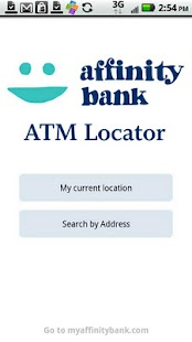 Affinity Bank ATM Locator- screenshot thumbnail
