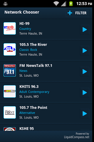 Emmis Radio - screenshot