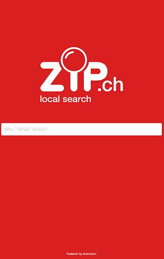 zip.ch - Switzerland phonebook