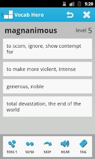 Vocab Hero - screenshot thumbnail