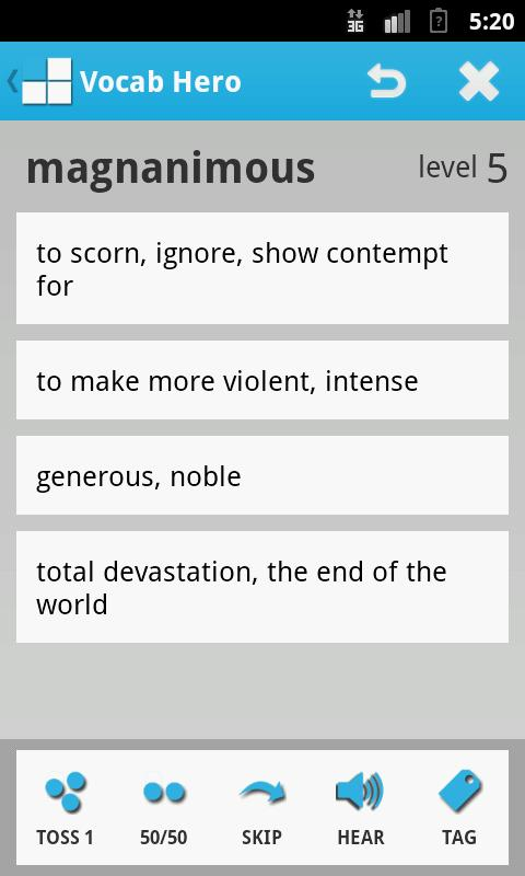 Vocab Hero - screenshot