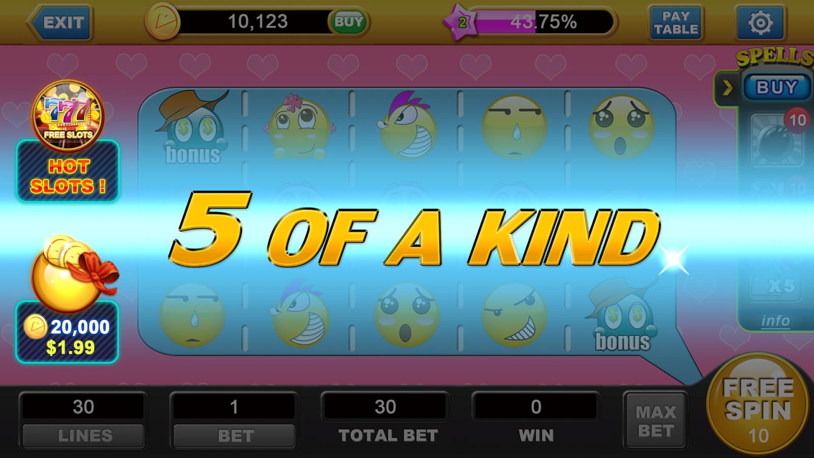 Emoji Slot Machine - Play the MrSlotty Casino Game for Free