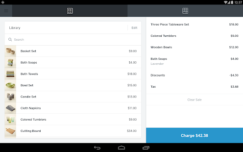 Square Register - POS Screenshot 11