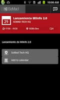 Screenshot of SoMad Tech