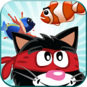 Ninja Cat Fishing icon