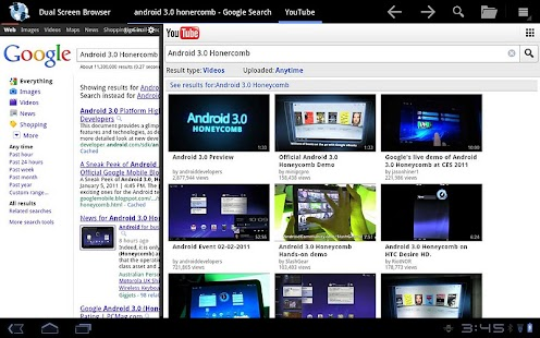 Dual Screen Browser Screenshot 5
