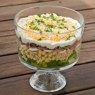 Hearty Eight Layer Salad