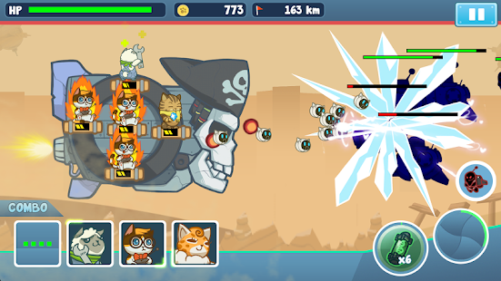 Naughty Kitties - Cats Battle- screenshot thumbnail